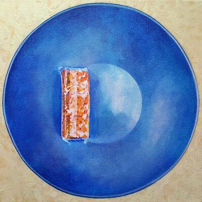 Sarah Atlee, 'Crackers & Blue Bowl', 2015