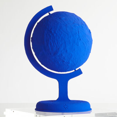 Yves Klein, 'The Blue Earth', 1957