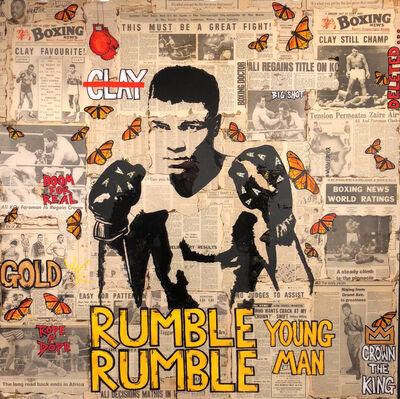 Patrick Burns, 'Rumble Rumble Young Man', 2018