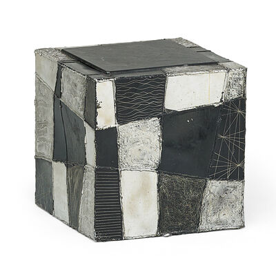 Paul Evans, 'Argente cube side table, New Hope, PA', late 1960s