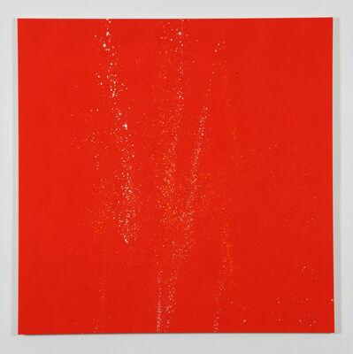 Marcia Hafif, 'Splash Painting: Cadmium Red Light (NY)', 2010