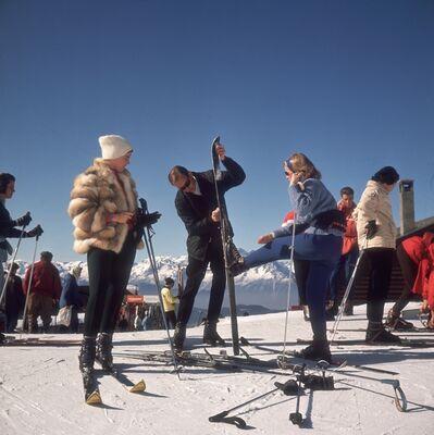 Slim Aarons, 'Verbier Skiers ', 1964