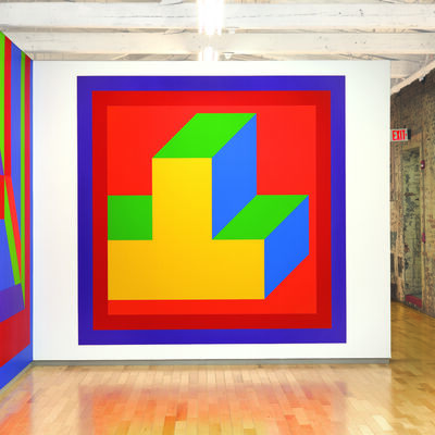 Sol LeWitt, 'Wall Drawing #1037', 2002