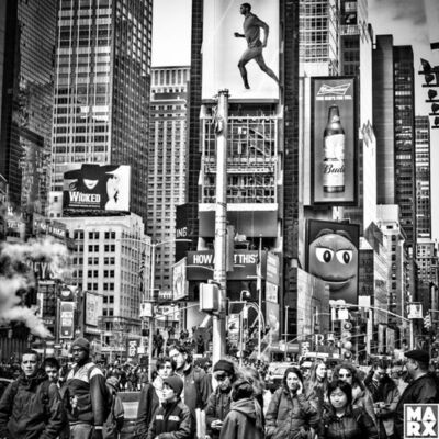 Andy Marx, 'Times Square Symphony'