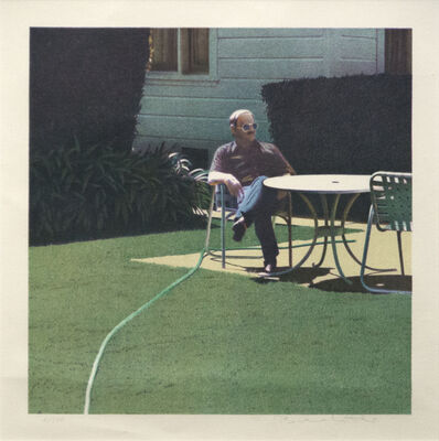 Robert Bechtle, 'Santa Barbara Patio, 12/10/1982', 1982