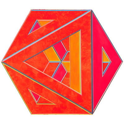 Alvin Loving Jr., 'Septehedron 34', 1970