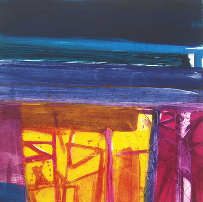 Barbara Rae, 'Yellow Field I', 2016