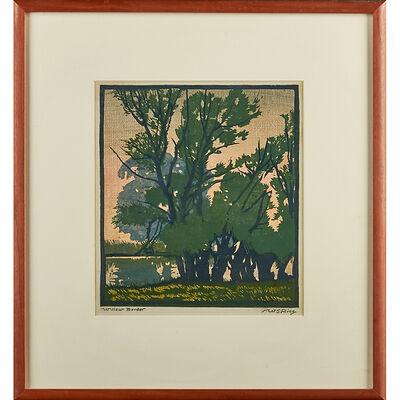 """William S. Rice, '""""Willow Border,"""" California'"""