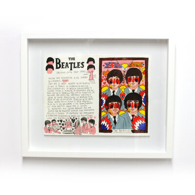 Ricardo Cavolo, '101 Artists to listen to before you die ; The Beatles', 2016