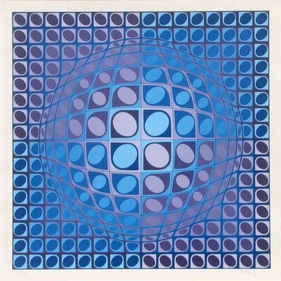 Victor Vasarely, 'Vega', ca. 1980