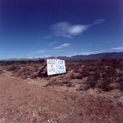 Daniel Mirer, 'Jesus is Lord, Nevada', 2007