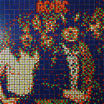 Invader, 'RUBIK - AC/DC', 2009