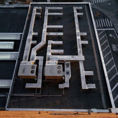 Daniel Mirer, 'Roof Top of Building, New York City', 2004