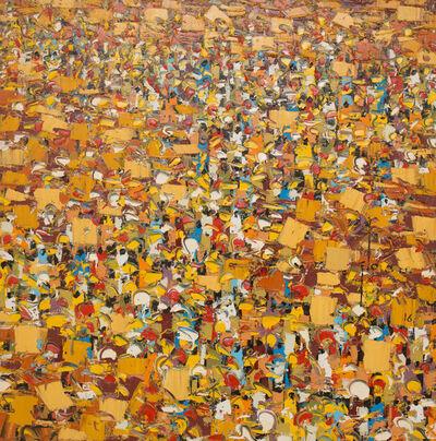 Ablade Glover, 'Market Scape', 2016