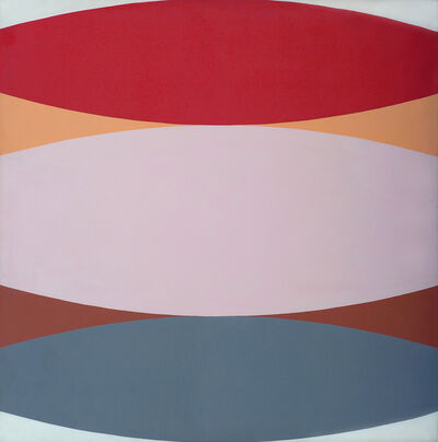 Leonard Brenner, 'Untitled {red/pink/gray]', ca. 1965