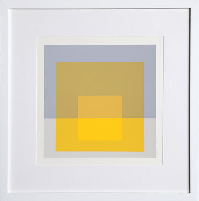 Josef Albers, 'Homage to the Square from Formulation: Articulation', 1972