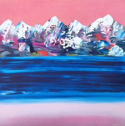 Stephanie Rivet, 'Rocheuses 219 - Le ciel rose', 2019