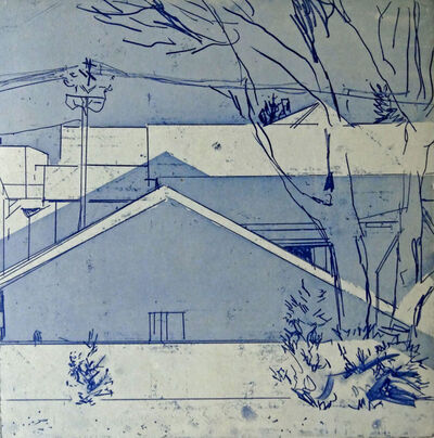 Helen Cantrell, 'Metro-North Blue Day', 2013
