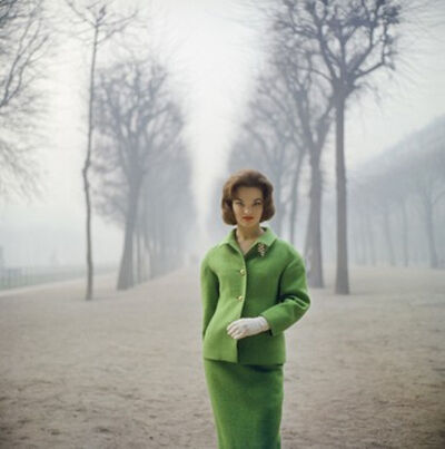 Mark Shaw, 'Henrietta Tiarks Among the Trees, Paris', 1959