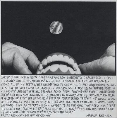 Marcia Resnick, 'Carter J. Oral', 1980