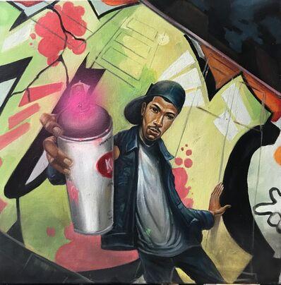 Frank Morrison, 'Spray Can Art', 2018