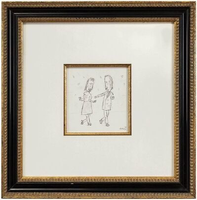 William Anthony, 'Dance with Me, William Anthony Caricature Drawing', 1980-1989