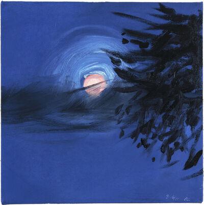 Ann Craven, 'Moon (Peach Moon over Maine, 8-16-11, 10PM), 2011', 2011
