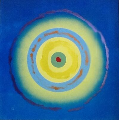 Kenneth Noland, 'Untitled, Small Circle', 2004