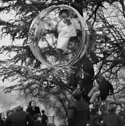 Melvin Sokolsky, 'School Yard Sky Watch, Paris', 1963
