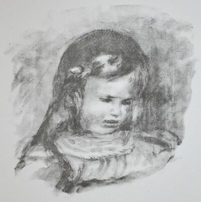 Pierre-Auguste Renoir, 'Claude Renoir, La Tete Baissee (Claude Renoir, Looking Down)', 1919