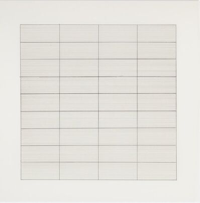 Agnes Martin, 'Untitled #3 (from Stedelijk Museum), 1990', 1990