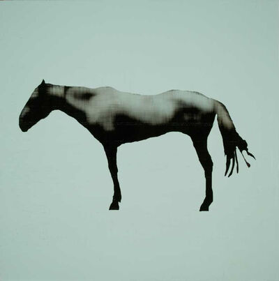 Holly Roberts, 'Blue Horse', 2018