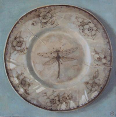 Olga Antonova, 'Dragonfly on plate', 2016