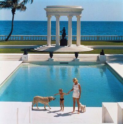 Slim Aarons, ''Nice Pool' Palm Beach (Estate Stamped Edition)', 1965