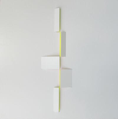 Juan Mejía, 'Signs No. 9 White-lemon', 2016