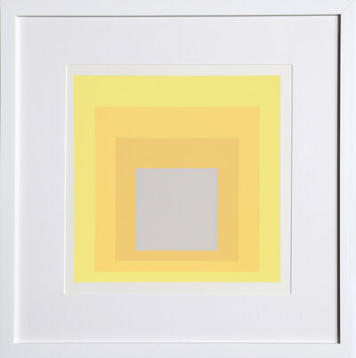 Josef Albers, 'Homage to the Square from Formulation : Articulation', 1972