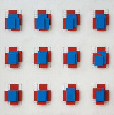Dóra Maurer, 'Displacement I-II/II', 1974