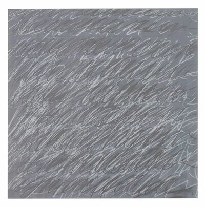 Cy Twombly, 'Untitled, from On the Bowery', 1969-71