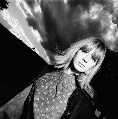 David Bailey, 'Marianne Faithful', 1964