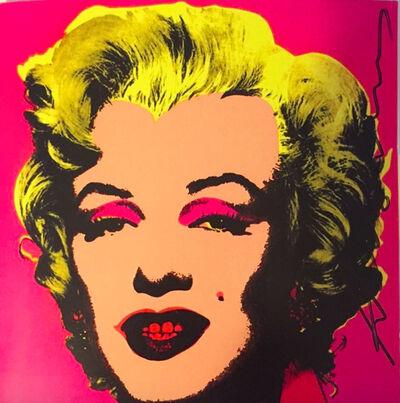 Andy Warhol, 'Marilyn Invitation (Castelli Graphics)', 1981