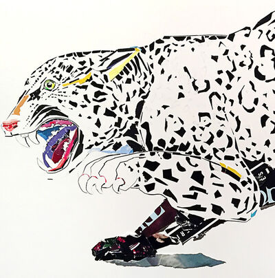 Tom Cocotos, 'Jaguar (after Audubon)', 2019