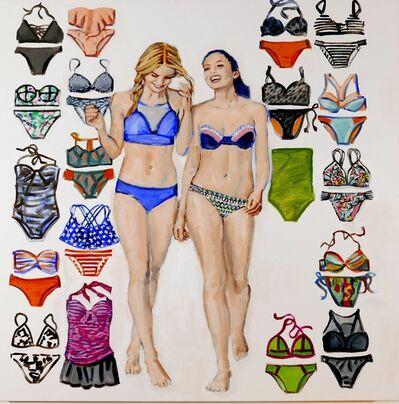 Walter Robinson, 'Target All Women Swim', 2016