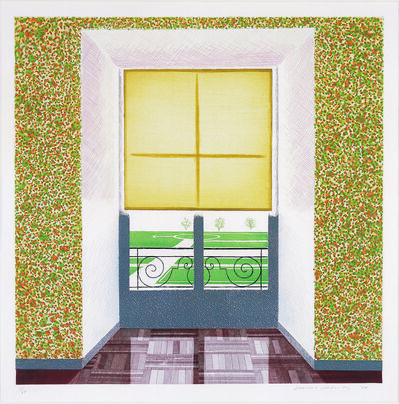 David Hockney, 'Contrejour in the French Style', 1974