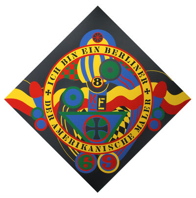 Robert Indiana, 'The Hartley Elegies: The Berlin Series- KvF IX', 1991