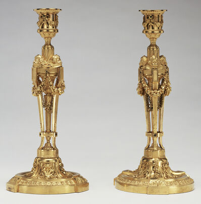 Etienne Martincourt, 'Pair of Candlesticks', 1780