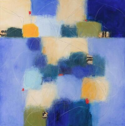 Carolyn Cole, 'Blue 81703'