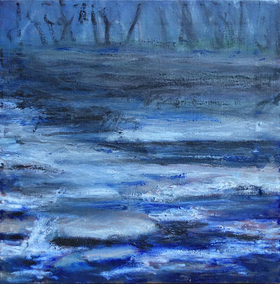 Margaret Leveson, 'Moody Muddy Stream', 2017