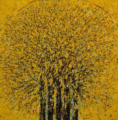 Ablade Glover, 'Yellow Forest', 2017