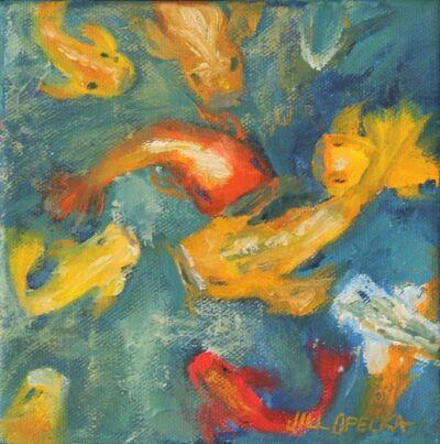 Jill Opelka, 'Koi Pond II', 2016