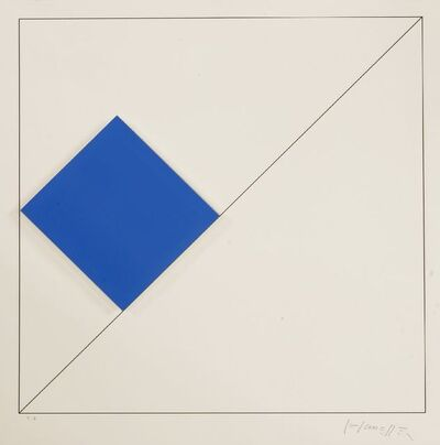 Gottfried Honegger, 'COMPOSITION (BLUE)', 2015